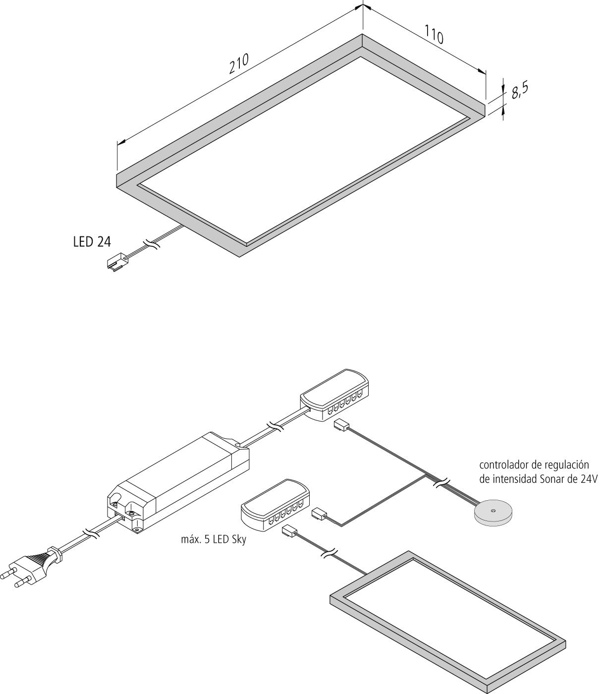 Vista preliminar: LED-Sky_vec_es