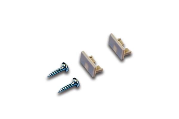 Stirndeckel LED Aufbauprofil 15/8mm