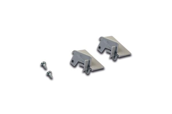 Stirndeckel LED Einfräsprofil A 24mm