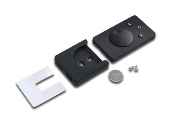 Surface mounted remote control Dynamic black