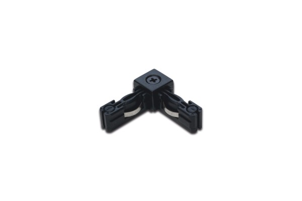 LED Track Corner Connector black