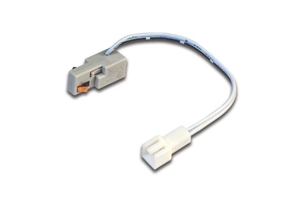 PS Mini Adapter 0,1m alu-eloxiert