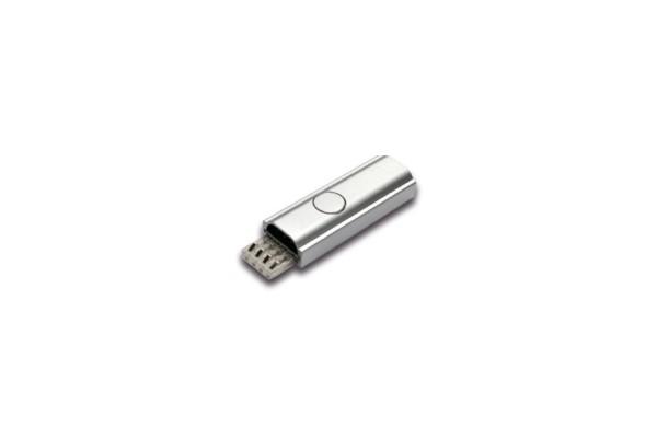 Tast-Schalter LED Twin-Stick 2 alu eloxiert