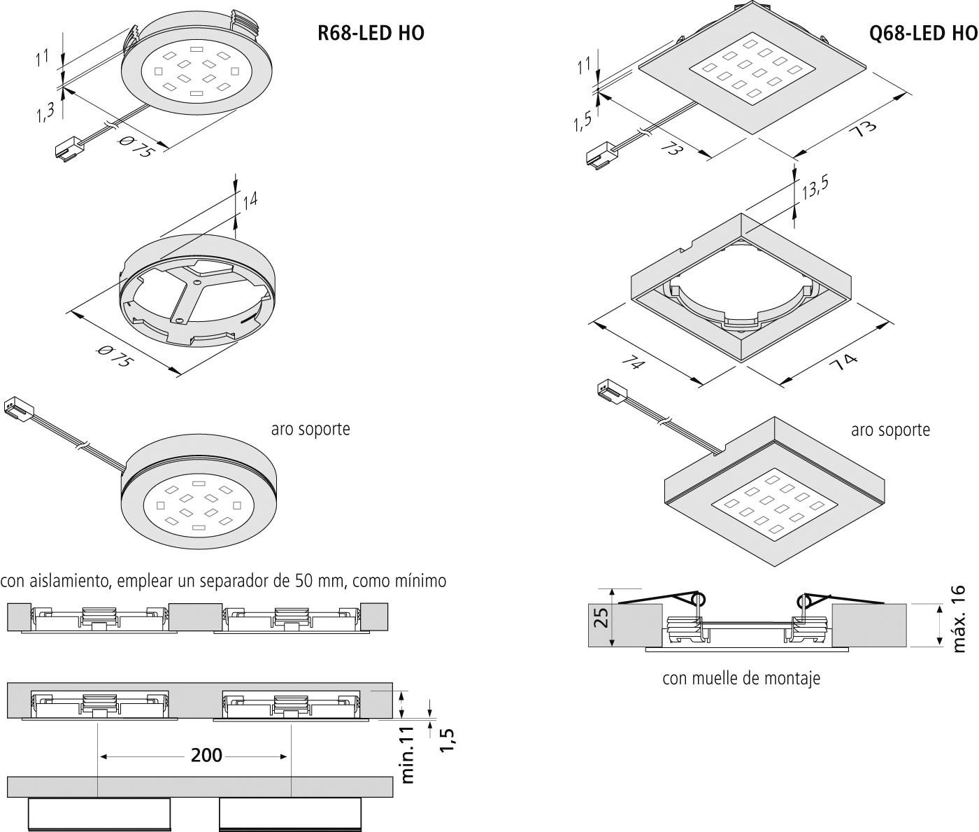 Vista preliminar: R68-LED-HO-_-Q68-LED-HO_es