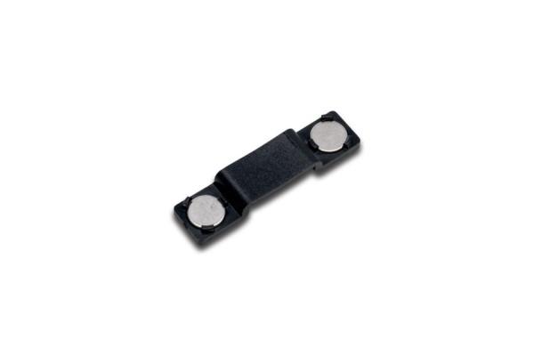 Flat-Track magnet holding clip black