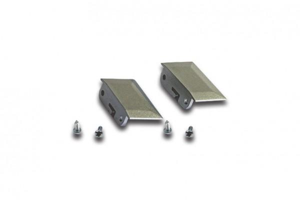 Stirndeckel LED Einfräsprofil 24mm