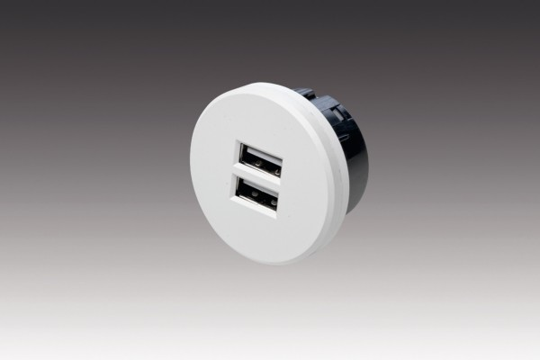 USB double socket