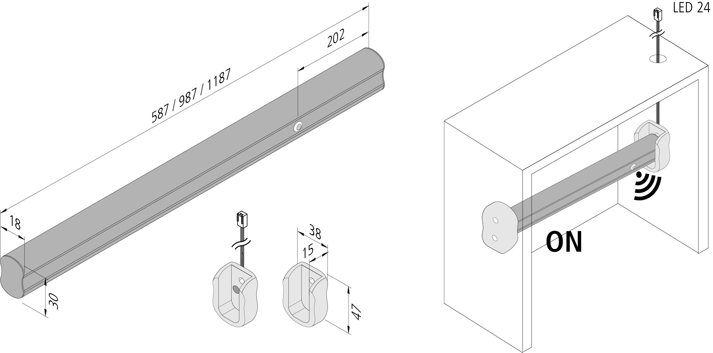 Anteprima: LED-Kleiderstangenleuchte_ZA
