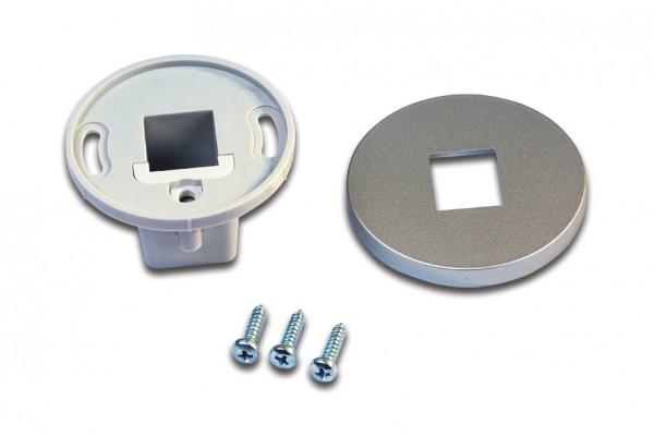 Mounting Sleeve LED Mounting Profile anodized aluminium