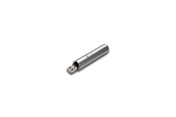 Push switch LED Stick 2 anodized aluminium
