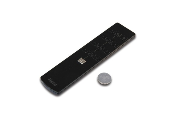 4-channel remote control black