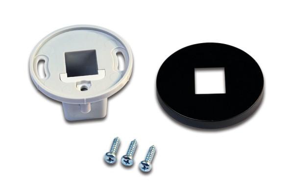Mounting Sleeve LED Mounting Profile black