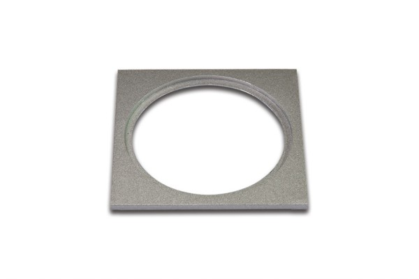 Adapter ring SR 68 square matt chrome