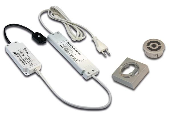 Trafo LED 350/15W Funk mit 3-fach Verteiler