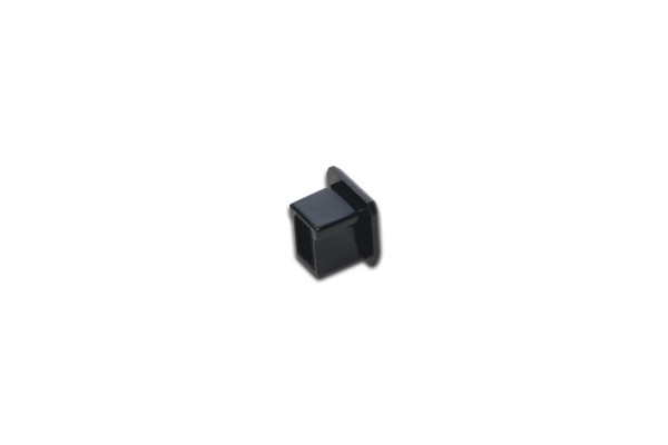 LED Track End Cap black