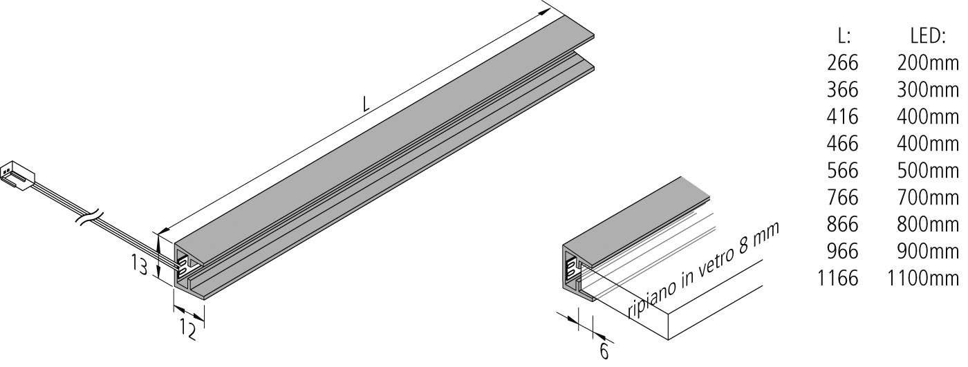 Anteprima: LED-Glaskantenleuchte_it