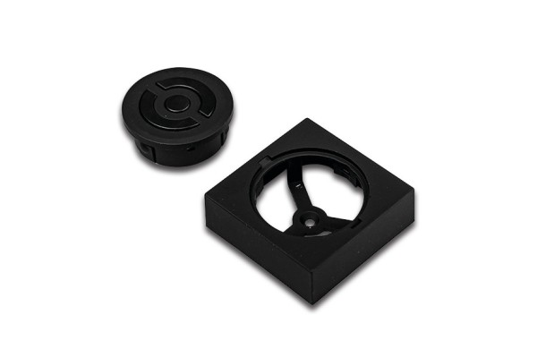 Recessed remote control Dynamic black