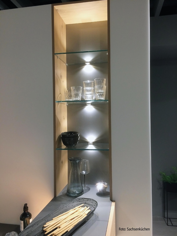 Elegant Hera Unterbauleuchten Küche
